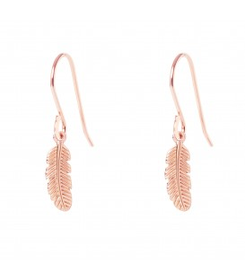 Muru Feather hook earrings