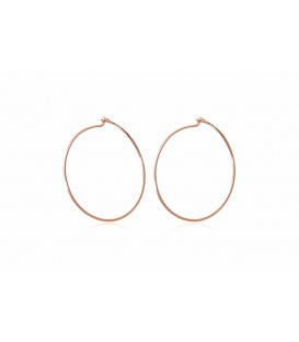Boho Betty Sarandon Rose Gold Hoops