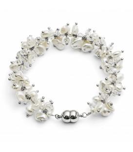 Keisha Pearl Bracelet