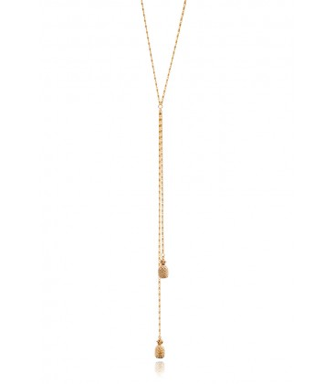 Pineapple Lariat Gold