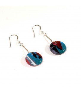 JoJo Blue Winter Earrings