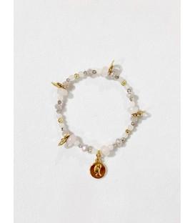 Bcharmd Alana Rose Quartz Bracelet Gold
