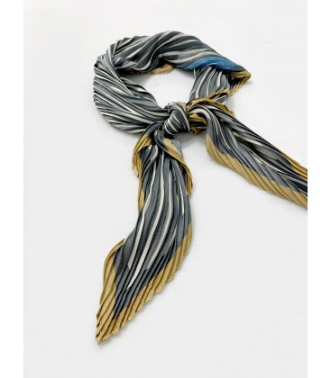 Bcharmd Pleated Square Scarf