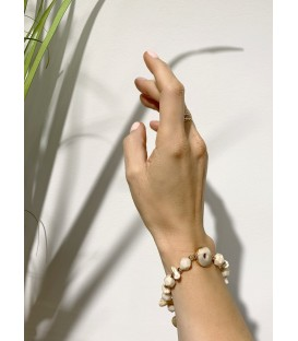 Bcharmd Abbey Seashell Bracelet Gold