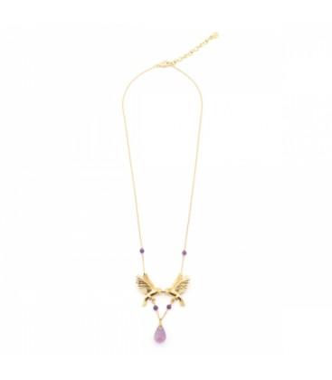 Double Bird Necklace