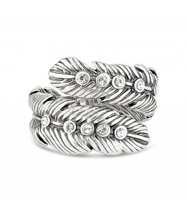 Feather Effect Ring