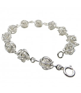 Tara Kirkpatrick Wire Balls Bracelet
