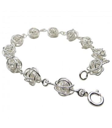 Wire Balls Bracelet