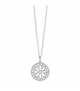 Purity Mandala Necklace