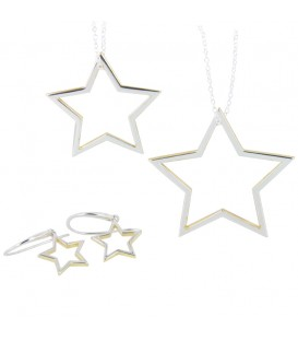 Shadow Star necklace Large