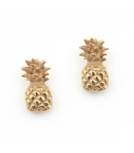 Bill Skinner Pineapple Stud Earrings