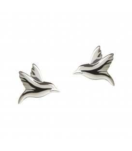 Hummingbird Studs Silver