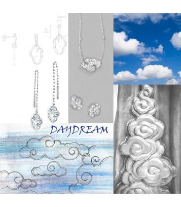 Daydream 'shoulder grazer' earrings