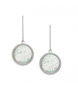 Oriental Sea Earrings White MOP