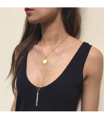 Rachel Jackson 'Be Daring Be Different' Bar Necklace
