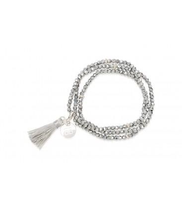 Boho Betty Classis Tassel Silver