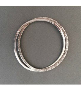 Chris Lewis Classic Circles Bangle