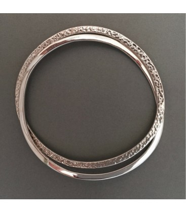 Classic Circles Bangle