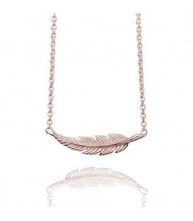 Muru Horizontal Feather Necklace